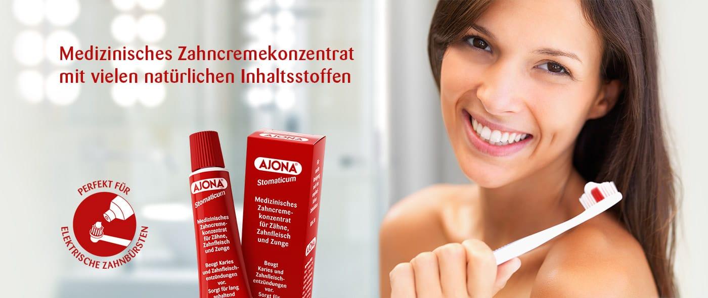 Ajona - Perfekt für elektrische Zahnbürsten